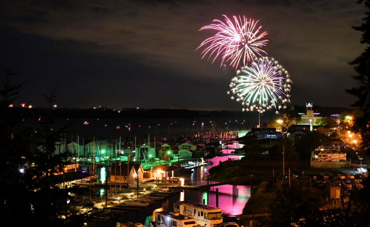 St. Helens Fireworks