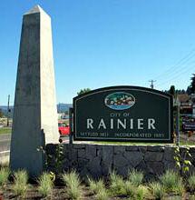 Rainier sign