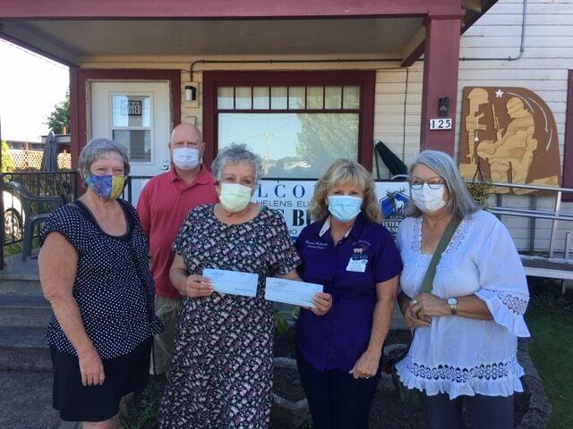 Elks Veteran Bunker Donation