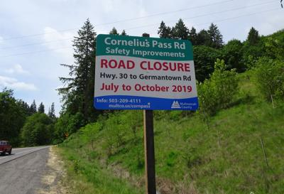 NEW DETAILS / UPDATE: New details about Cornelius Pass Closure