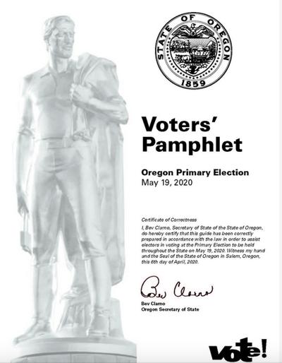 Online Voters Pamphlet