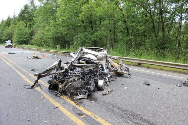 Fatal crash partially closes Highway 30 east of Astoria