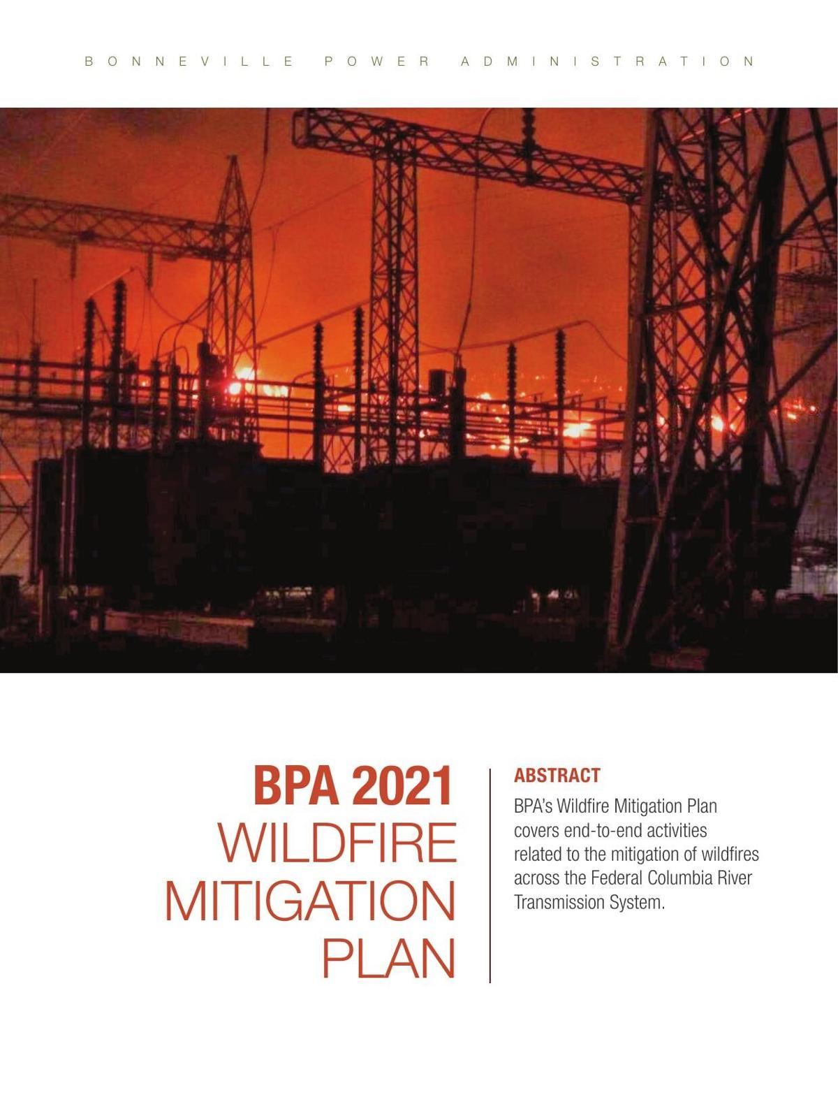 BPA Wildfire Mitigation Plan