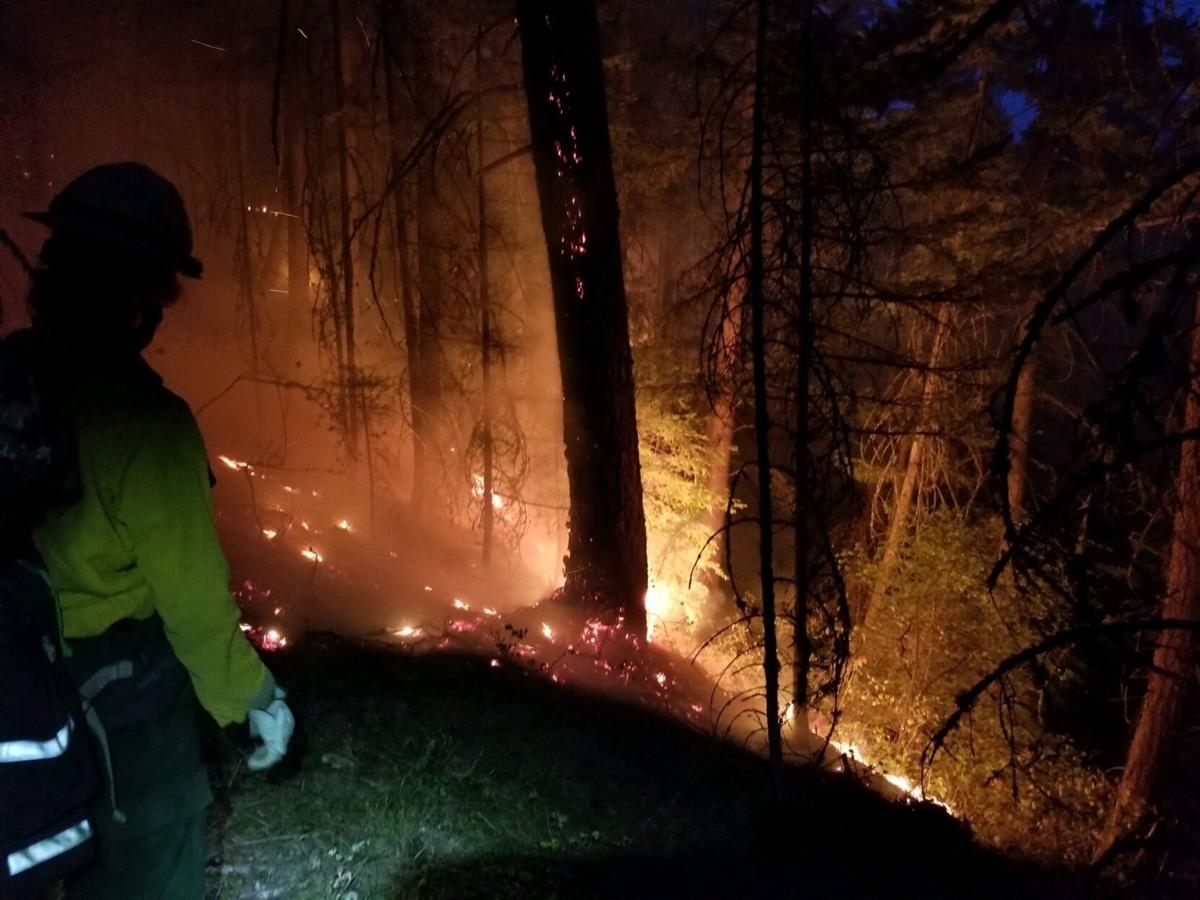 Hillside Flames