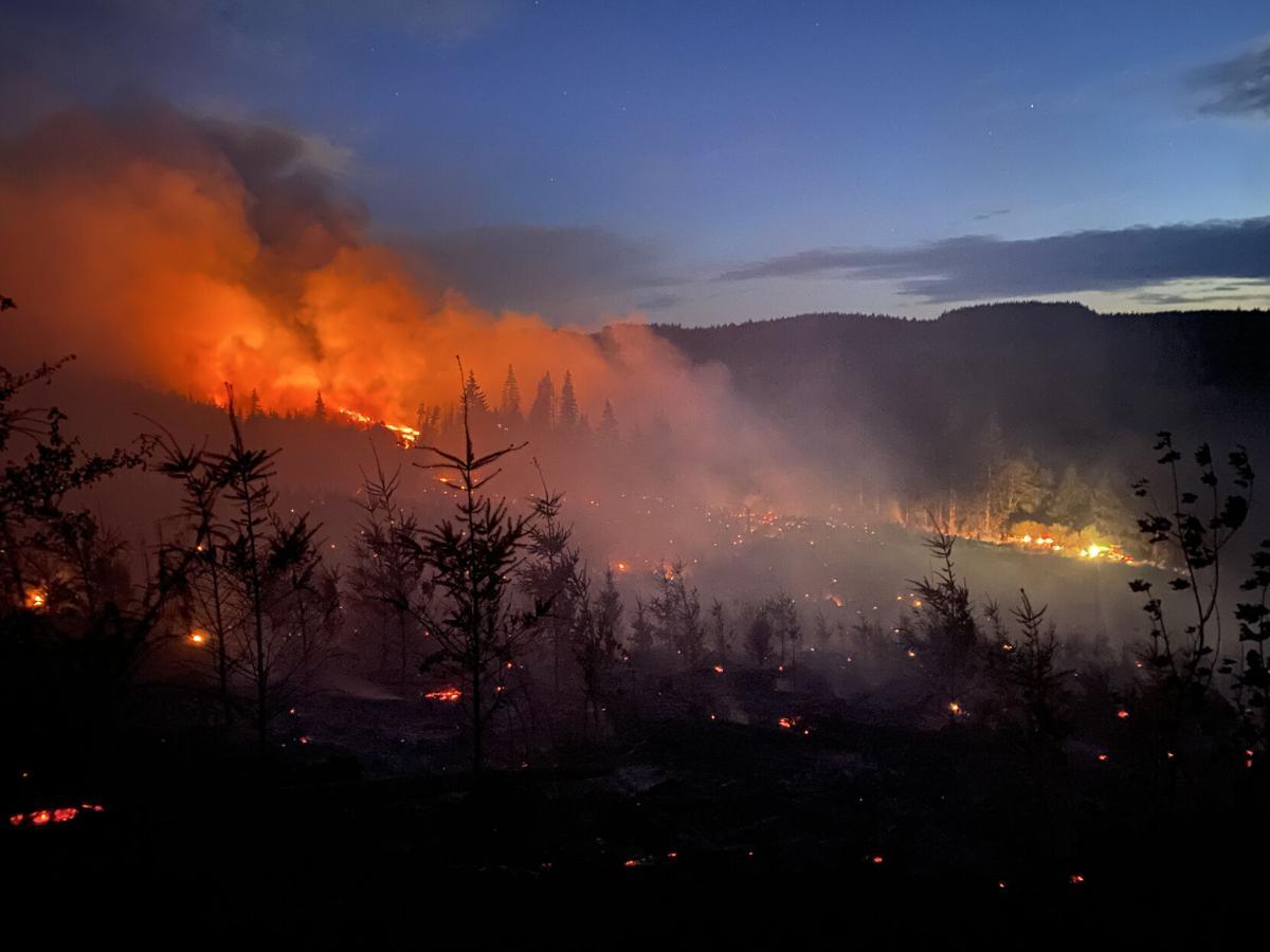Alder Creek Wildfire