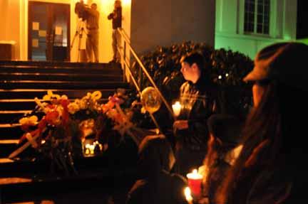 Rainier City Hall memorial