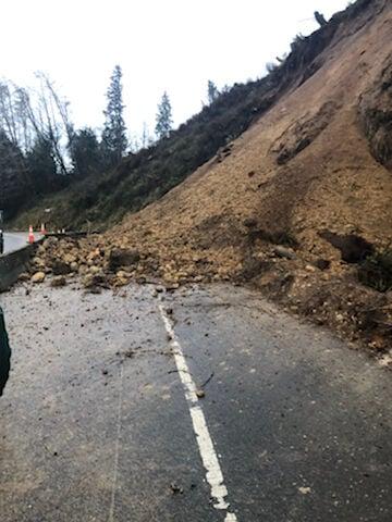 Highway 30 Landslide