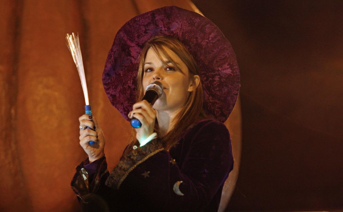kimberly j brown also known as marnie of halloweentown was the star attraction in st helens for spirit of halloweentown 2016 - Marnie From Halloween Town
