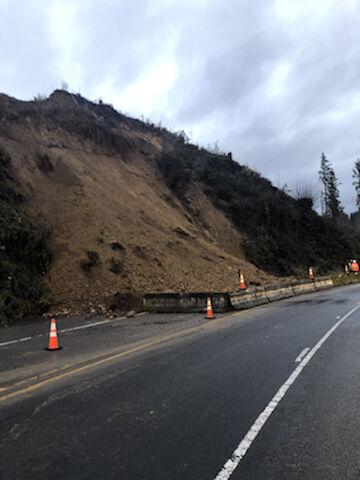 Highway Landslide
