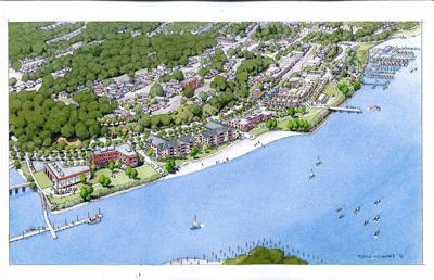 Waterfront development