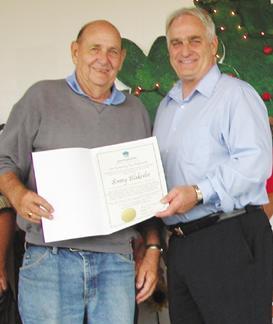 State ag secretary honors longtime Sparta Fair director