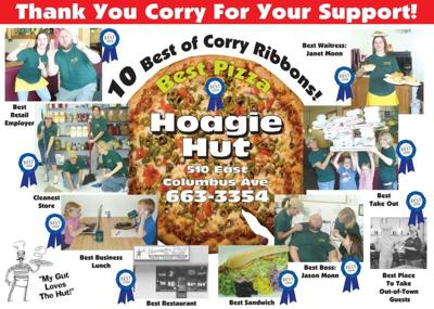 Win a $10 Hoagie Hut Gift Certificate - Thursday's Contest