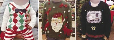 Ugliest Christmas sweater contest