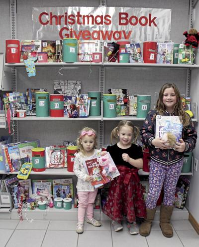 Library Christmas giveaway