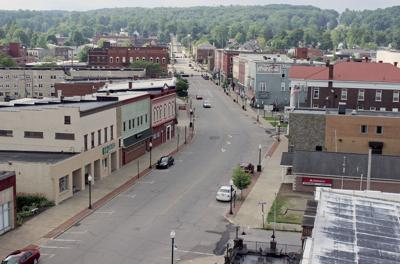 Downtown Corry