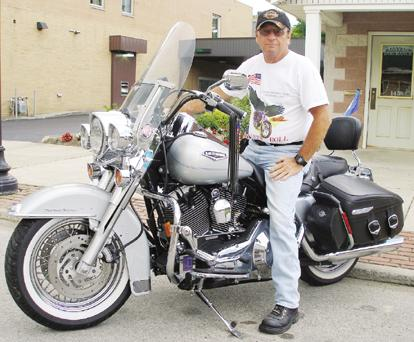 Corry motorcyclist joins in Flight 93 ride