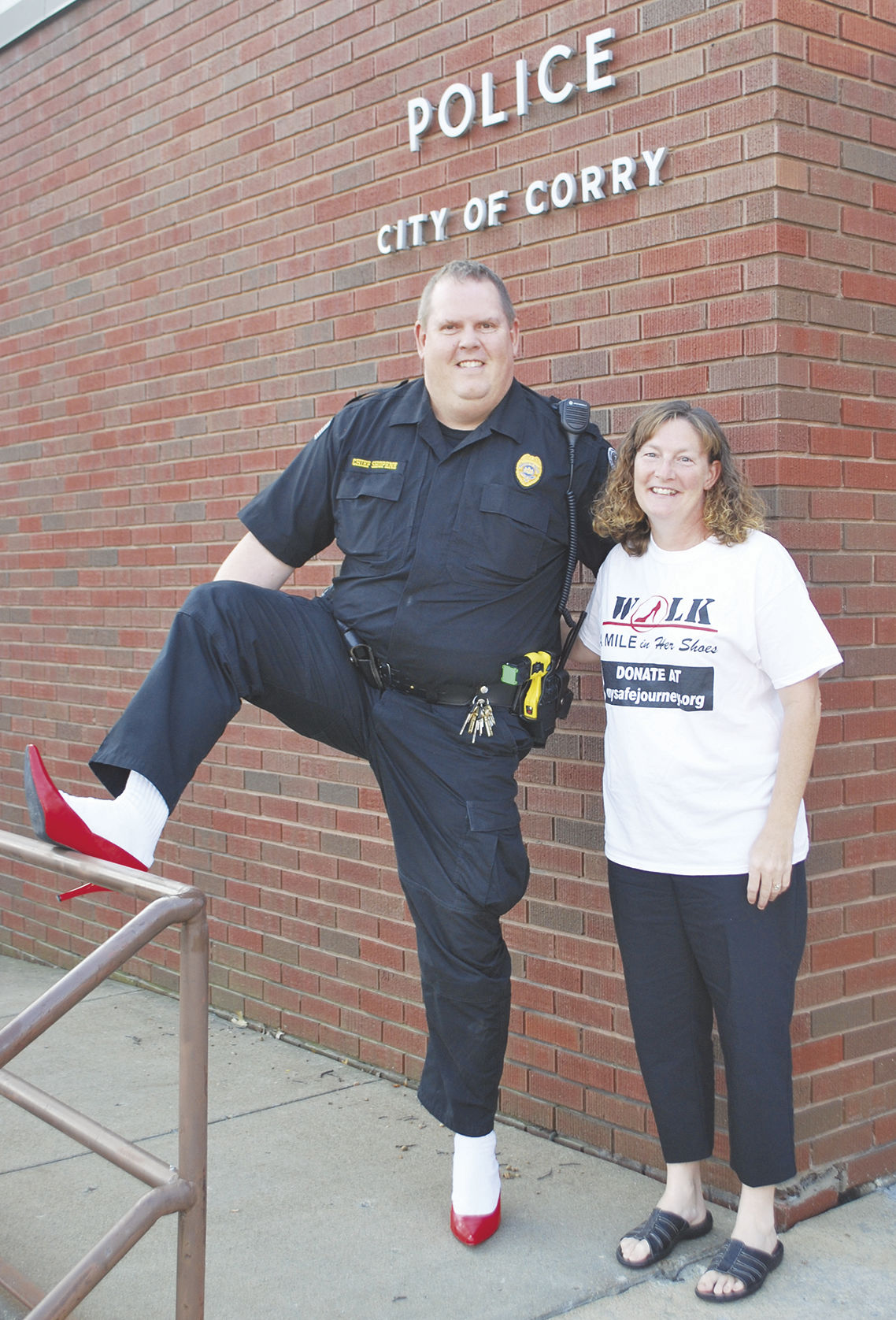 Annual domestic violence awareness event marches into town Oct. 7