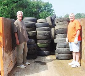 Tire collection nets $261