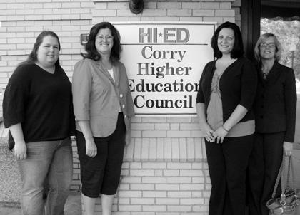 Corry Higher Education Council awards adult college scholarships