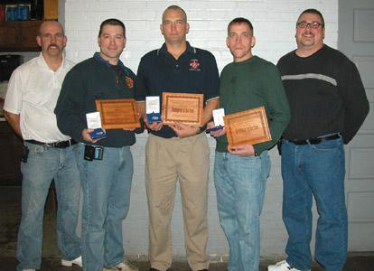 3 firefighters honored for saving woman's life