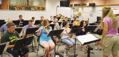 Musical winds to blow through city park