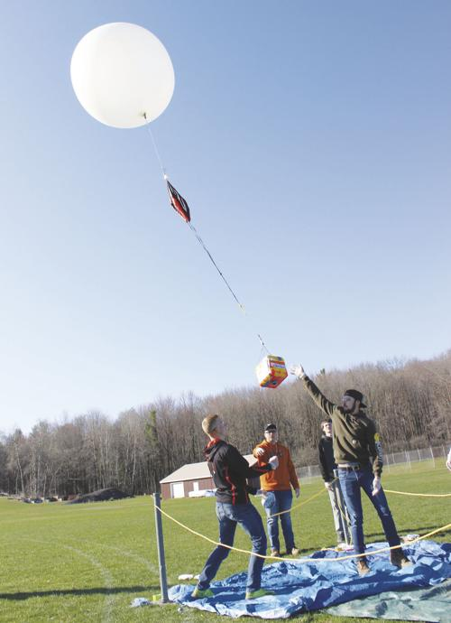 Students launch weather balloon | News | thecorryjournal com