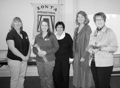 New Zonta members