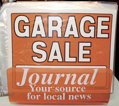 Garage, yard sales permitted