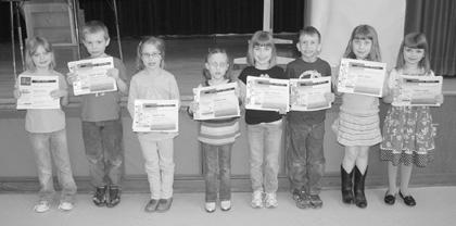 Conelway school students earn writing contest honors, prizes