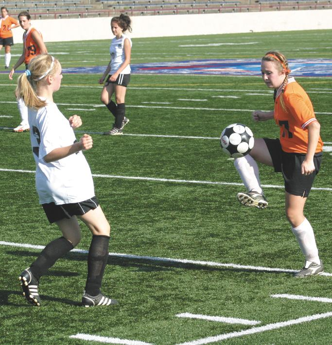 Lady Beavers prevail, 2-1