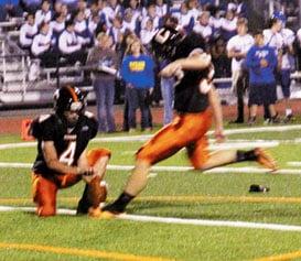 Kicker Brody Wood.