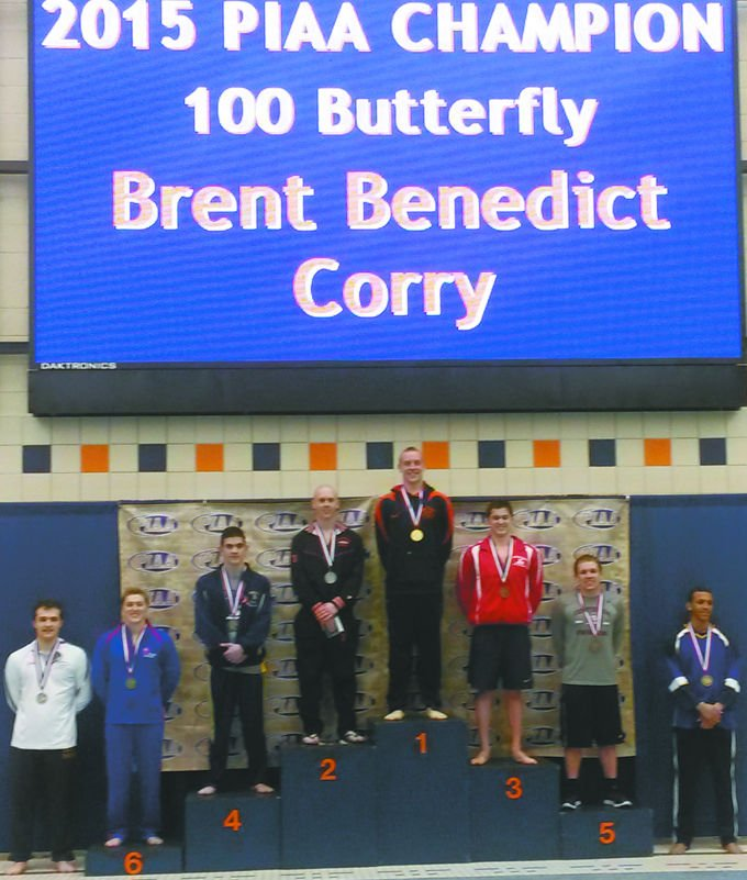 Brent Benedict's third gold medal