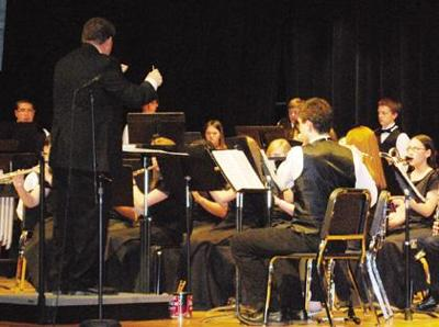 Corry high school band hits high note