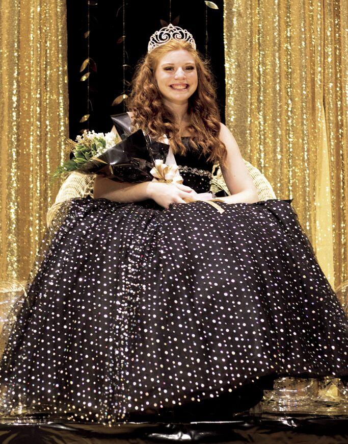 Elaina Wilkinson, prom queen 2020