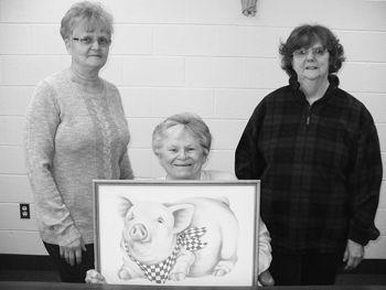 Marie Mitchell, Rosie Baker & Wanda Baker