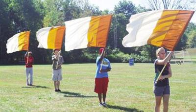 Marching band prepares for fall