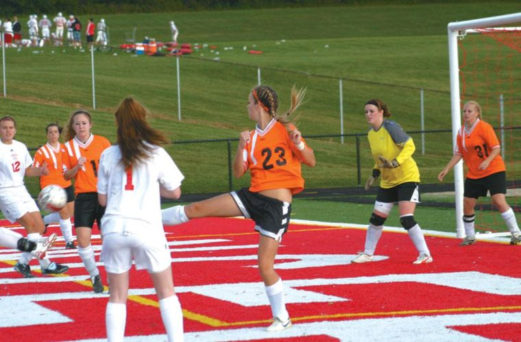 GM surges in second halfto beat Lady Beavers, 4-0