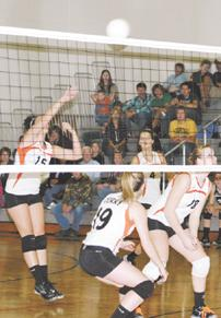 Lady Beavers 6-2 at halfway point of volleyball season