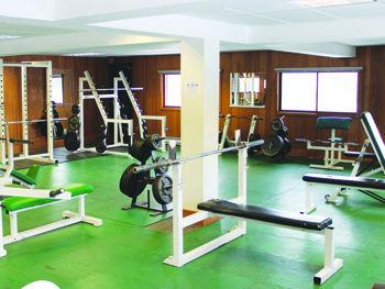 UC gym fully stocked