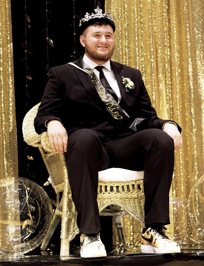 Taylor Willis, prom king 2020