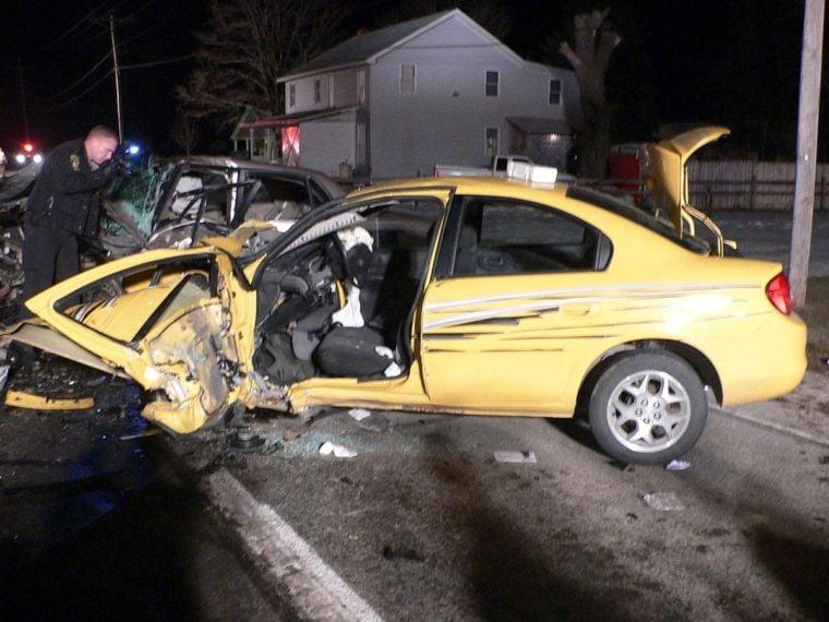 Tuesday evening crash injured 5