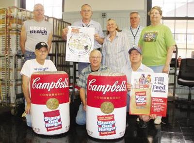 Stamp out hunger Saturday during annual food drive