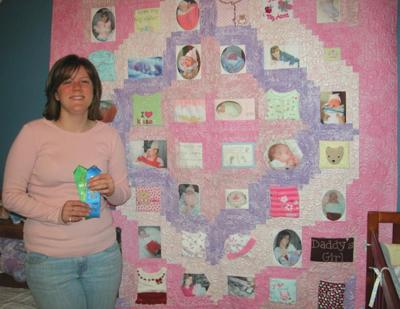 Quilt Tells Story of Baby's Short Life