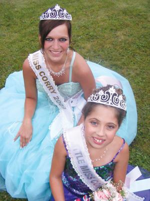 Miss Corry, Little Miss Corry Crowned