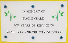 Park association honors longtime board member