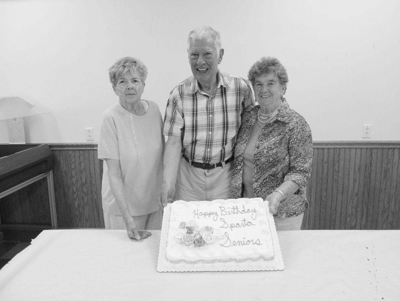 Sparty seniors celebrate
