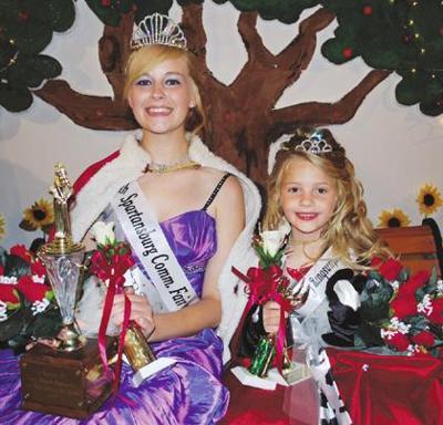Sparty Fair crowns 2011 Queen, Princess