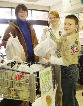 Drive nets 760 pounds of food, $500 for pantry