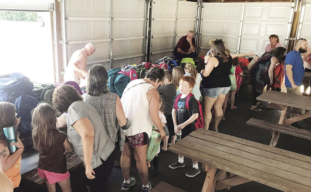 VFW backpack giveaway
