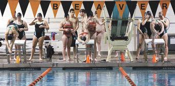 Girls 200-yard freestyle relay